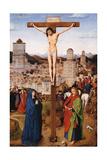 Crucifixion Poster by Hubert & Jan Van Eyck