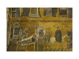 Mission of Joseph. Aisle of the left transept. St. Mark's Basilica, Venice, Italy 10th c. Giclee Print