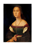 Portrait of a Woman (La Muta) Reproduction procédé giclée par  Raphael