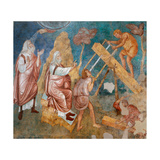 Building of Noah's Ark Giclee Print by  Giotto di Bondone