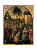 Adoration of the Magi, Unknown Umbrian Artist, c. 1490. Palazzo Pitti, Florence, Italy Prints by  Umbrian Artist