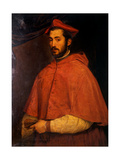 Portrait of Cardinal Alessandro Farnese Posters by  Titian (Tiziano Vecelli)