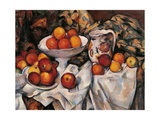 Apples and Oranges Posters by Paul Cézanne