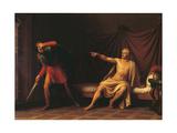 Marius and Minturnus Poster by Agostino Tofanelli