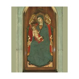 Madonna and Child with Saints Giclee Print by Sano di Pietro