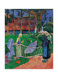 Fence with Flowers Prints by Paul Serusier