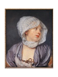 Portrait of a Young Woman Art by Jean-Baptiste Greuze