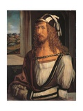Copy of Albrecht Durer's Self Portrait Giclee Print by Albrecht Durer