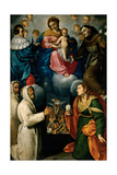 Madonna & Child with Sts. Anthony, Mary Magdalene & Purging Souls Prints by Carlo Ceresa