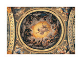 Vision of St. John the Evangelist, Evangelists & Doctors of the Church Prints by  Correggio