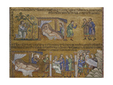 Noah's Drunkenness. North Vault. St. Mark's Basilica, 10th c. Venice, Italy Giclee Print
