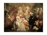 Family of Procurator Luigi Pisani Reproduction procédé giclée par Alessandro Longhi