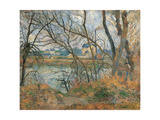 Banks of the Oise near Pontoise Prints by Camille Pissarro