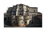 Church of the Santissima Annunziata Print by Giovanni Battista Fornovo