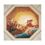 Apollo on the Chariot of Sun Plakaty autor Giani Felice