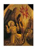 Stigmata of St. Francis Art by Gentile da Fabriano