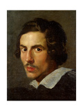 Self portrait as a Young Man Prints by Gian Lorenzo Bernini