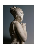 Dancer with a Finger on her Chin Print by Antonio Canova