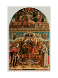 Coronation of the Virgin (altarpiece) Posters by Carlo Crivelli