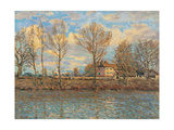 Island of La Grande Jatte, Neuilly sur Seine Giclee Print by Alfred Sisley