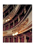 La Scala Theater, Concert Hall Boxes, Milan, Italy Prints by Giuseppe Piermarini
