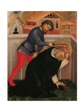 Valle Romita Polyptych, St. Peter Martyr Prints by Gentile da Fabriano