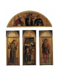 Triptych of the Nativity Print by Gentile & Giovanni & Jacopo Bellini