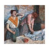 Women Ironing Giclee Print by Edgar Degas