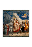 Life of Christ, The Flight into Egypt Prints by  Giotto di Bondone