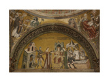 Martyrdom of John the Baptist. Lunette of the Baptistery 10th c. St. Mark's Basilica, Venice, Italy Giclee Print