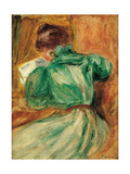 La Liseuse Verte Prints by Pierre-Auguste Renoir