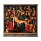 Deposition, Bernardino Luini, 1516. San Giorgio al Palazzo, Milan, Italy Poster by Bernardino Luini