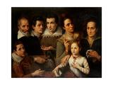 Portrait de famille Reproduction procédé giclée par Lavinia Fontana