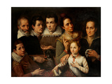 Family Portrait Art by Lavinia Fontana
