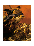 Ecstasy of St. Margaret of Cortona, Giovanni Lanfranco, 1622, Palazzo Pitti, Florence, Italy Print by Giovanni Lanfranco