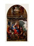 Holy Family Arriving at the Inn Prints by Giovanni Mannozzi