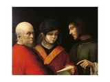 Three Ages Print by  Giorgione