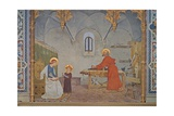 St. Joseph at Work Prints by Modesto Faustini