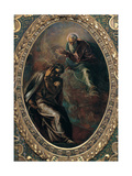 Eternal Father Appears to Moses Giclee Print by  Tintoretto