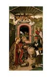 Crib Altarpiece, Nativity Poster