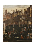 Miracle of the Relic of the True Cross at the Rialto Bridge Posters af Vittore Carpaccio