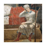 Legend of the Cross, Dream of Constantine Print by  Piero della Francesca