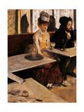 Absinthe Drinker Posters by Edgar Degas