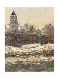 Church at Vetheuil Poster by Claude Monet