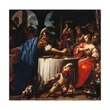 Banquet of Anthony and Cleopatra Art by Francesco Trevisani