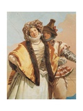 Declaration of Love Prints by Tiepolo Giandomenico