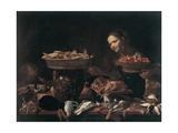 Køkken Plakat af Evaristo Baschenis