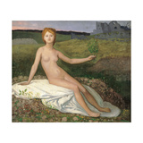 Hope Posters by Pierre Puvis de Chavannes