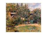 Railway Bridge at Chatou (Yvelines) Print by Pierre-Auguste Renoir