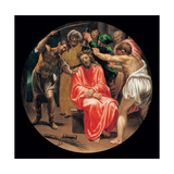 Mysteries of the Rosary, The Passion, Mocking Christ Giclee Print by Vincenzo Campi